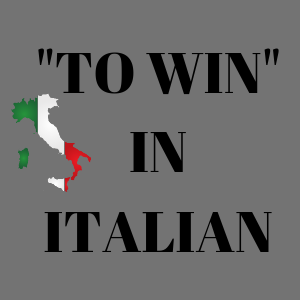 verb win in italian